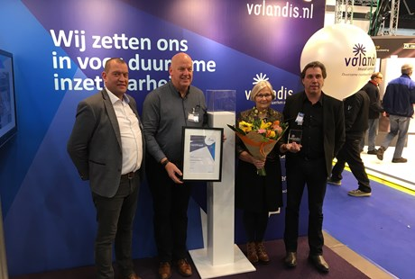 Montarent & Wall-Linq winnaars DIA Innovation Award Volandis